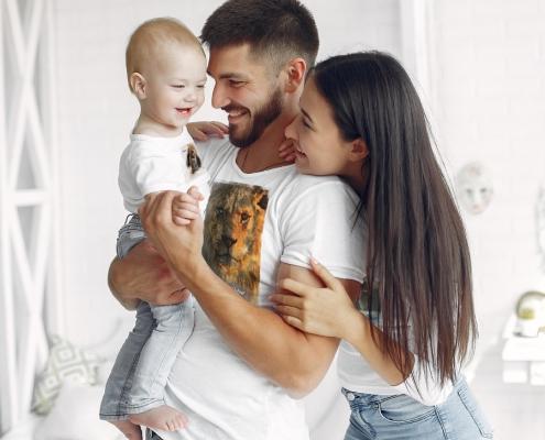 Vêtements motifs personnalisables pour toute la famille